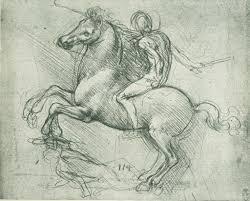 11 exercises leonardo da vinci practiced to achieve artistic ier on horseback