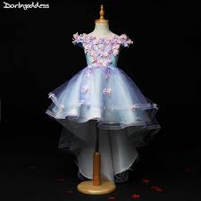 Pink Flower Girls <b>Dresses</b> for Weddings Ball <b>Gown Kids Children</b> ...