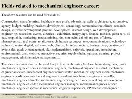 top  mechanical engineer cover letter samples