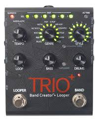 <b>Digitech TRIO педаль</b> для гитары с эффектом Band Creator Looper