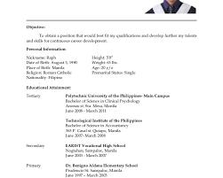 breakupus prepossessing babysitting job description job resume breakupus hot resume for hrm ojt students resume alluring college student resume sample gogetresume