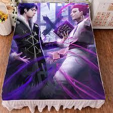 <b>Hunter X Hunter</b> Hisoka/Kulolo HD <b>Printing</b> Bedsheet Micro Fiber ...