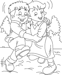 Small Picture Friendship Coloring Page Pages Tell People About Jesus Can My