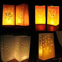 Paper Bag Candle Lanterns NZ