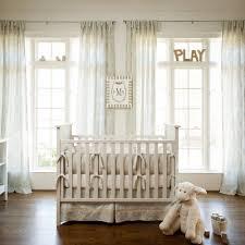 neutral baby nursery interior design with white polished teak wood bedroom furniture custom baby bedding baby nursery furniture designer