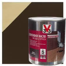 <b>Масло</b> для террас V33 цвет венге 2.5 л в Москве – купить по ...