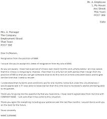 due to illness resignation letter example resignations letters samples