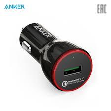 <b>Автомобильное зарядное устройство Anker</b> PowerDrive+ 1 24W ...