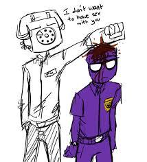 "For everyone who ships Purple Guy and Phone Guy (aka ""Keep it PG ... via Relatably.com"