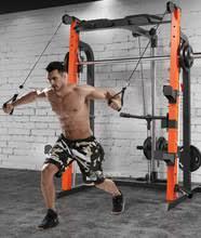 Тренажер для тяжелой атлетики Squat, параллельный <b>тренажер</b> ...