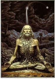 Image result for images of yogi in penance