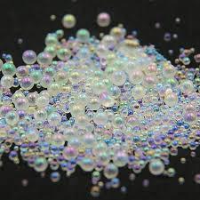 <b>10g</b>/<b>Jar Mini Bubble Nail</b> Beads 0.8mm,1mm,1.2mm,1.5mm Mixed ...