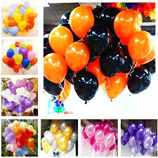 <b>5pcs</b> 10 Inch <b>Black</b> White Heart <b>Latex</b> Balloon Inflatable Air Balls ...