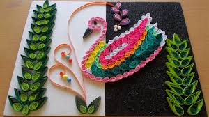 amazing art and craft ideas for home decor as diy home decor with paper quilling art amazing diy room decor