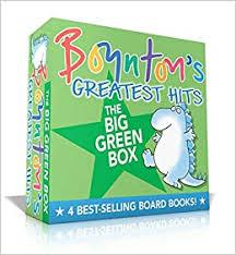 Boynton's <b>Greatest</b> Hits <b>The Big</b> Green Box: Happy Hippo, Angry ...