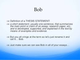 comparison contrast essay thesis statement examples essay topics  bob the thesis statement compare and contrast essay