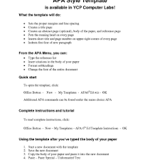 apa research paper outline apa sample cover letter
