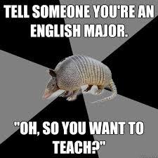 Tumblr English Major images via Relatably.com