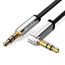 Vention 3.5mm Auxiliary Audio Cable 90 Degree ... - Amazon.com