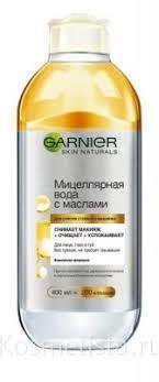 Отзывы на Очищающая <b>вода</b>, лосьон, тоник Garnier Micellar Oil ...