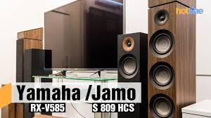 <b>Yamaha RX</b>-V585 и Jamo S 807/S 809 — строим домашний ...