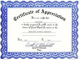 new appreciation certificate templates certificate templates word award certification templates