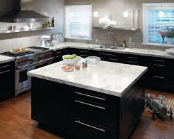 3460 calacatta marble 180fxr by formica group trendy kitchen photo in cincinnati with a drop in nice types kitchen