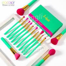 <b>Docolor Makeup Brushes 14Pcs</b> Heat Brush Set Foundation ...