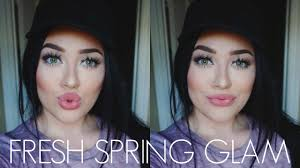 fresh and simple everyday spring makeup tutorial