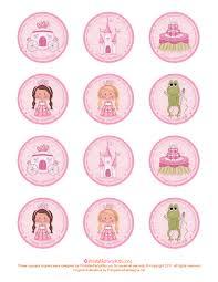 printable princess birthday cupcake toppers printable party printable princess birthday cupcake toppers printable party kits