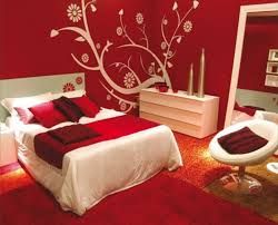 red wall paint black bed: red bedroom paint ideas cfbef red bedroom paint ideas
