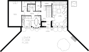 Earth Sheltered Passive Home PlanSecond Floor