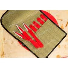 <b>Набор метательных ножей</b> Кобра М 7 штук в скатке ...