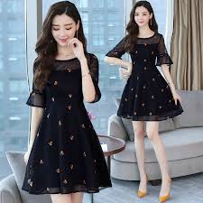 2019 <b>Summer</b> 4XL Plus Size Lace Mesh Sexy Mini Dresses Korean ...