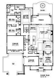 images about Lake plan on Pinterest   Floor plans  House    First Floor Plan of The Suwanee   House Plan Number   great for a