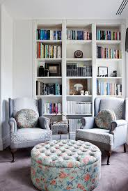 library office furniture mukulu library office furniture family room contemporary with bird fabric built in bookcase bkm office furniture steelcase case studies