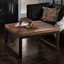 comely classy brown varnished oak wood coffee table with wrought affordable reclaimed teak and weathered iron affordable reclaimed wood furniture
