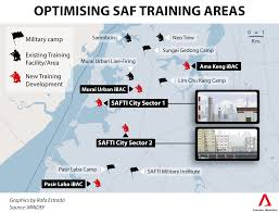 safti city the size of bishan to be built for army training murai s ibac will feature nine section level battle lanes for infantry sections to train their cognitive and psychomotor skills using customised mission