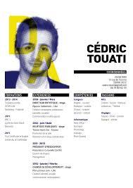 cédric touati   directeur artistique art director   cv resume    cédric touati   directeur artistique art director   cv resume   layout   pinterest