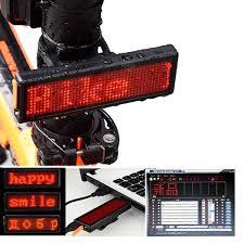 <b>Outdoor Bike</b> Warning <b>Light Bicycle</b> Taillight Advertising <b>Lamp</b> USB ...