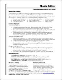Examples Of Good Resumes That Get Jobs   Financial Samurai Brefash