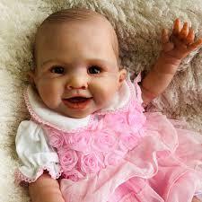 <b>70cm silicone reborn</b> baby dolls clothes for girls vinyl babies doll ...