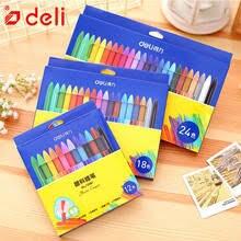 Deli 12/18/24 Цветные <b>Восковые Мелки</b> ручка для рисования ...