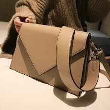 <b>European Fashion Casual</b> Square bag 2020 New High quality PU ...