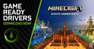 <b>Minecraft</b> with RTX <b>Game</b> Ready Driver Released