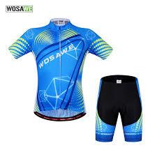 <b>WOSAWE Summer Cycling</b> Sets <b>Jerseys Bike Bicycle Cycle</b> ...