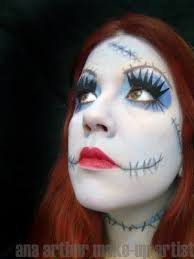 ana arthur make up artist the nightmare before amazing sally