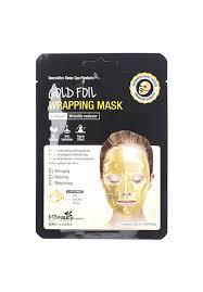 <b>Антивозрастная золотая</b> фольгированная <b>маска для</b> лица с ...