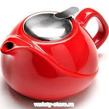 <b>Заварочный чайник Loraine</b> 23057-5 0.75 литра, красный ...