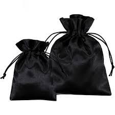 Satin Gift <b>Bag Custom Logo</b> Sachet for Jewelry Packaging Luxury ...